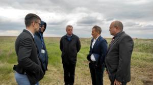 """Інспекція будівництва аеропорту """"Дніпро"""""""