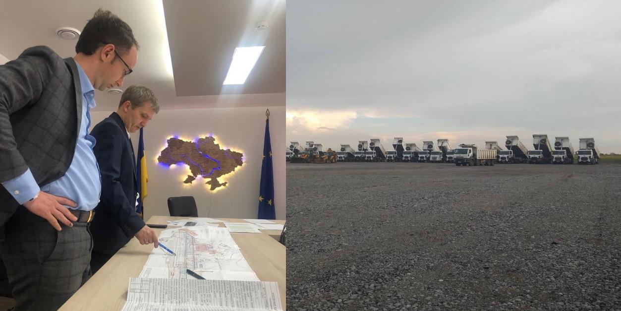 Хроніки будівництва аеропорту «Дніпро»