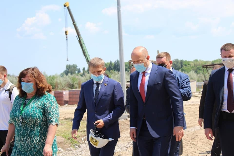 Візит Прем'єр-міністра України Дениса Шмигаля до Слобожанської громади