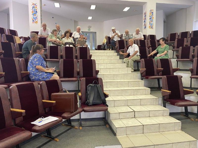 Зустріч з ветеранами Петриківщини